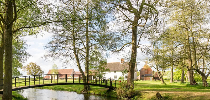 A private, secluded and exclusive wedding venue, Easton Grange in Suffolk countryside