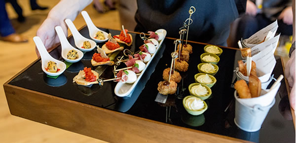 Our chef and front of house team are here to ensure that all your guests are extremely well fed and watered