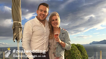 Essex wedding venue. Esme & Nick tell us about getting married at Easton Grange
