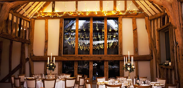 Cosy Autumn weddings at Easton Grange