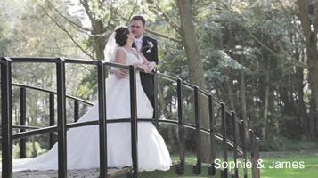 Autumn weddings: Sophie and James in September