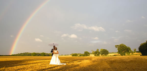 A wedding venue for all seasons and weather. Easton Grange in Suffolk