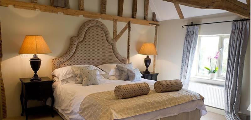 The Bakehouse. luxury bridal suite at Easton Grange
