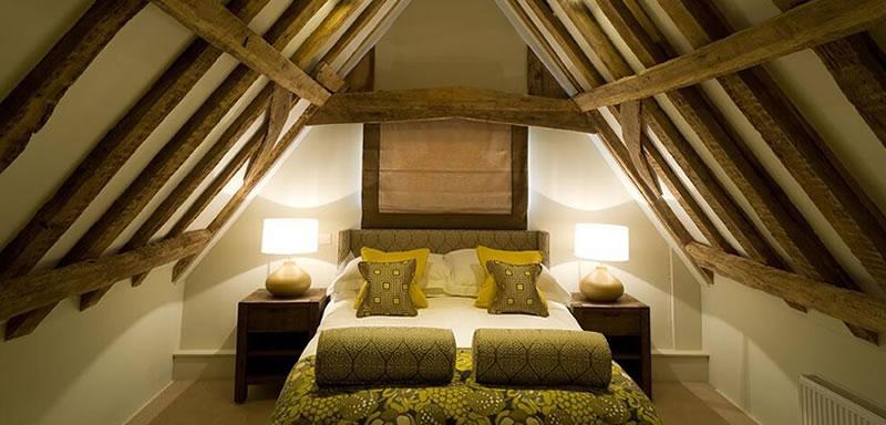 The Loft room at Easton Grange