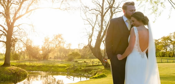 Countryside Autumn weddings at Easton Grange