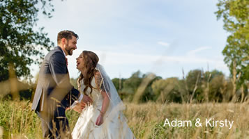 Autumn weddings: Kirsty and Adam in November