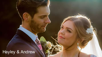 Autumn weddings: Hayley and Andy in October