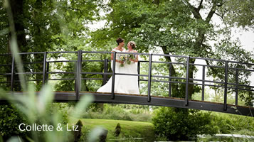 Easton Grange real wedding: Collette and Liz