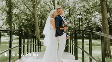 July wedding at Easton Grange - Jessica & Philip